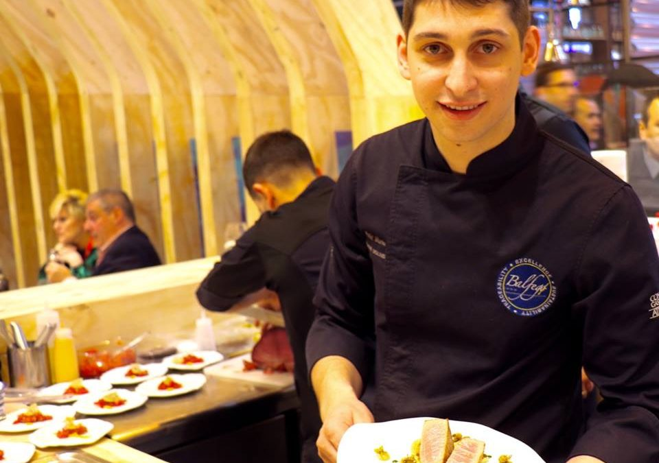 El Chef Rafel Muria fue protagonista en Salón Gourmets 2019