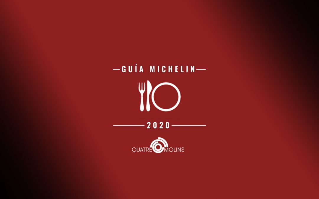 Quatre Molins, a la Guia Michelin 2020